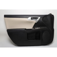 Lexus CT200h Front Door Panel Trim Left/Driver Black 11-14 OEM A887 2011, 2012, 2013, 2014