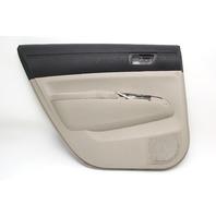 Toyota Prius 04-09 Door Panel Trim Lining, Rear Left Tan Leather 67640-47150