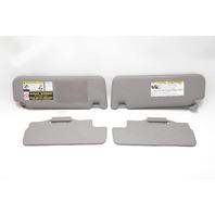 Toyota 4Runner Sun Visor Grey Right/Left (4) Set OEM A971 04-09 2004, 2005, 2006, 2007, 2008, 2009