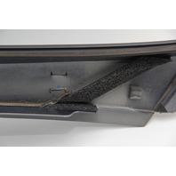 Infiniti G37 Coupe Pillar Molding Trim Garnish Left/Driver Gray OEM 08-13