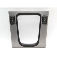 Honda Accord Shift Shifter Select Bezel Trim W/ Switch Silver 77294-SDA-A3 06-07