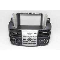 Acura RDX Climate Radio Control Radio Bezel Trim Black OEM 07-12 A939 2007, 2008, 2009, 2010, 2011, 2012