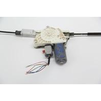 Infiniti G37 Coupe Power Window Regulator w/Motor Front Left/Driver OEM 08-13
