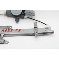 Infiniti G37 Window Regulator w/Motor Rear Right/Passenger OEM 08 09 10 11 12 13