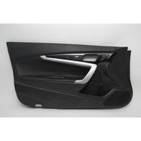 Honda Accord Coupe 13 14 15 Door Panel Trim Front Left Black 83551-T3L-A11ZA