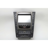 Lexus GS350 Navigation Display Radio Stereo  86120-30A80-C0 07-08 A909 2007, 2008