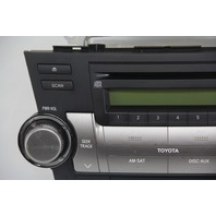 Toyota Highlander MP3 WMA CD Disc Player, AM/FM Radio Receiver 86120-48E50 08-11