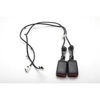 Nissan 350Z Front Seat Belt Buckle Left/Right Set Black 86842-CD000 A892