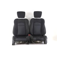 Nissan 370Z 09-17 Front Seat Left/Driver Right/Passenger Black 87620-1EA0A A858 2009, 2010, 2011, 2012, 2013, 2014, 2015, 2016, 2017