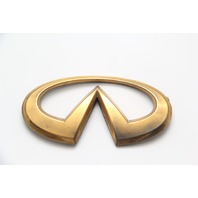 Infiniti FX35 Rear Trunk Lid Lift Gate Emblem Gold 90891-CG000 03 04 05 06 07 08