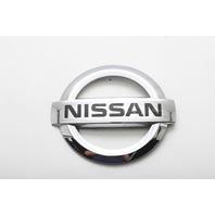 Nissan Armada Lift Gate Trunk Emblem Badge Logo Deck Lid OEM 04 05 06 07 08 A598