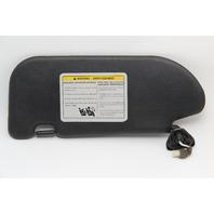 Nissan 350Z Convertible Sun Visor Sunvisor Right/Passenger Leather OEM 06-08