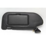 Nissan 350Z Convertible Sun Visor Sunvisor Left/Driver Black Leather OEM 06-08