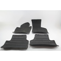 VW CC Rline All Season Floor Carpet Mats Assembly Black OEM 09 10 11 12