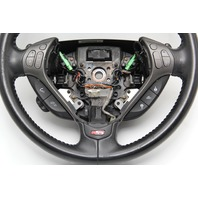 Acura TL Type-S 07-08 Steering Wheel, Black, Leather W/ Switches 78501-SEP-A01ZA