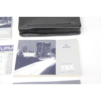 Acura TSX 2007 Owner's Manual Information Guide Maintenance Booklet Pamphlet Case