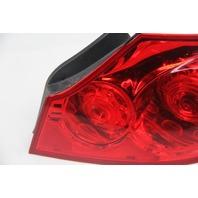 Infiniti G37 Sedan Rear Right Tail Light Lamp 26550-JK60B OEM 09 10 11 12 13