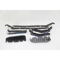 Acura RL Rear Bumper Bracket Retainer Left/Right 8 Piece Set Kit OEM 05 06 07 08