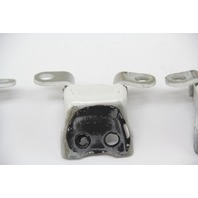 Acura TL Front Door Hinges Stay Set Left/Right White OEM 09 10 11 12 13 14
