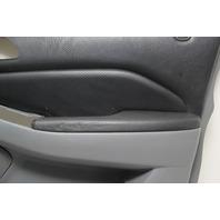 Acura MDX Front Door Panel Trim Right/Passenger Gray/Black 83533-S3V-A01, 01-03