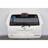 Toyota 4Runner Liftgate Lift Gate Deck Lid White 03-09 Trunk Factory OEM A893 2003, 2004, 2005, 2006, 2007, 2008, 2009