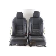 Lexus RC300 16-19 Front Black Driver Right/Left Passenger/Driver Blown Seat Set A918 2016, 2017, 2018, 2019