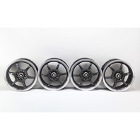 Enkei OR52 Alloy Wheel Rim Set 6 Spoke 16x7 Black/Silver