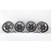 Enkei OR52 Alloy Wheel Rim Set 6 Spoke 16x7 Black/Silver