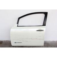 Nissan Leaf Front Door Assembly White Left/Driver H010M-3NAMA OEM 2012