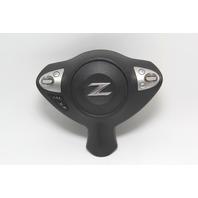Nissan 370Z Wheel SRS Air Bag Module Assembly Black K851M-1EA0A OEM 09-19
