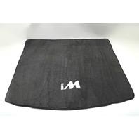 Scion iM Cargo Mat Carpet Floor Mat Spare Black OEM Black 16-18 A928 2016, 2017, 2018