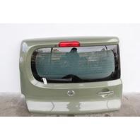 Nissan Cube Back Door, Tailgate Trunk Decklid Assy Green KMA0M-1FCMA OEM 09-14