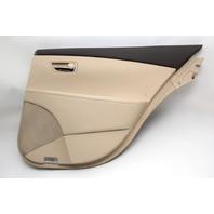 Lexus ES350 Rear Door Panel Trim Right, Tan, Interior 07-12 OEM