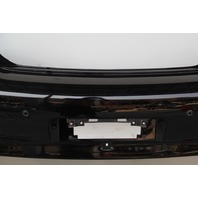 Infiniti G37 Sedan 10-13 Rear Bumper Cover, Black, w/Park Assist 85022-1NF1H OEM