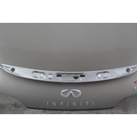 Infiniti G37 Coupe 2008 Trunk Deck Lid Tail Gate Charcoal Platinum Graphite