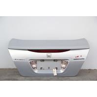 Honda Accord Sedan Hybrid 06-07 Trunk Deck Lid Luggage Silver OEM 68500-SDR-A80