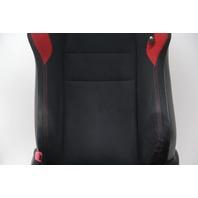 Scion FR-S Subaru BRZ 13 14 15  16 Front Left/Driver Cloth Black/Red Seat