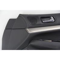 Infiniti G37 Sedan 12 13 Door Panel Trim Lining Front Right Pass. 880900-JU71E