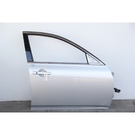 Infiniti G37 Sedan 08-13 Front Door, Right Side Electric Silver, OEM