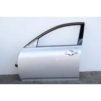 Infiniti G37 Sedan Front Door, Left Side Electric Silver, OEM 08 09 10 11 12 13