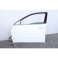 Honda Accord Sedan Front Door Assy Left Driver Side White OEM 2003-2007