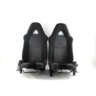 Mazda RX8 Front Left/Driver Right/Passenger Seat Black/Grey Cloth Set OEM 04 05 06 07 08 2004-2008