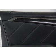 Acura TL Type-S 07-08 Front Left Door Panel Lining Trim, Black 83586-SEP-A04ZH