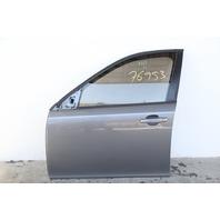 Saab 9-3 Sedan 08-11 Front Door Assy Left Side Electric, Grey 12768506
