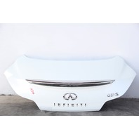 Infiniti G37 Coupe 2008 Trunk Deck Lid Tail Gate White OEM 08 09 10 11 12 13