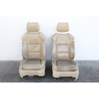 Acura MDX Front Seat Left Driver and Right Passenger Set Pair Tan, 07 08 09 OEM