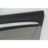 Infiniti G37 Coupe 08-13 Front Right/Passenger Door Panel Black/Gray 80900-JL34C