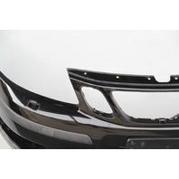 Saab 9-3 Sedan 2003 Front Bumper Face Cover Black Full Assembly 12788061 OEM