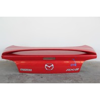 Mazda RX8 Trunk Deck Luggage Lid w/ Spoiler Red OEM F1Y15261XB 04 05 06 07 08