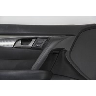 Acura TL Front Left Door Panel Lining Trim Black 83550-TK4-A14 OEM 09-11